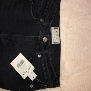 Free People High waisted  Ripped Jeans